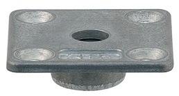 Billede af Montageplade, firkantet, 47,5 x 47,5 mm
