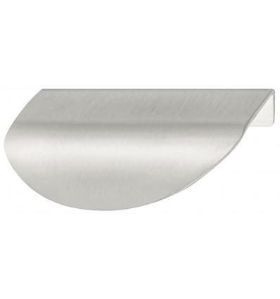 Oval gribeliste - rustfrit stål