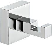 Image of   Frakke-/håndklædekrog - selvklæbende