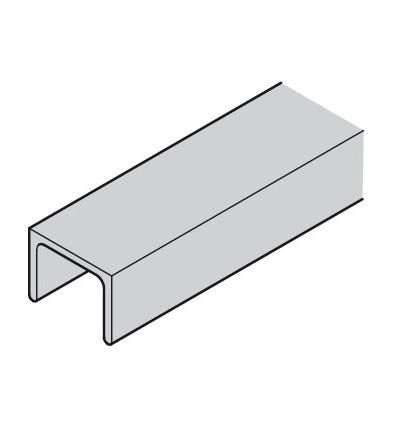 Styreskinne top - Aluminium