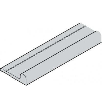 Løbe- og styreskinne bund - Aluminium