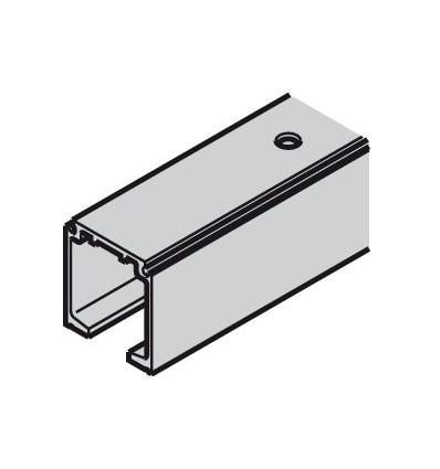 Skinne til Häfele Slido - Til væg eller loft montering - 31x33 mm