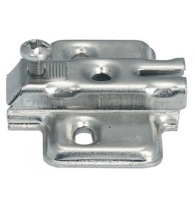 Krydsmontageplade - Metallamat A - til spånpladeskruer