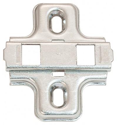 Krydsmontageplade - Metallamat SM - til spånpladeskruer