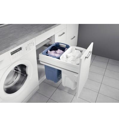 Hailo udtrækkelig vasketøjskurv