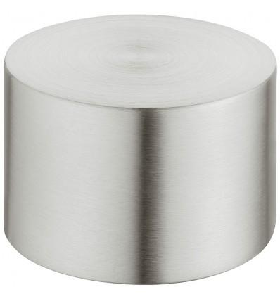 Endestykke - påsætning - stålfarvet