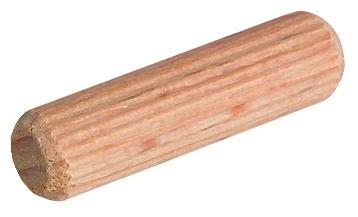 Billede af Trædyvler Ø8 mm - Bøg - 100 gram (114 - 60 stk.)