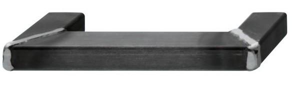 Image of   Brugt og sort lakeret stålgreb, svejset gering 190-350 mm