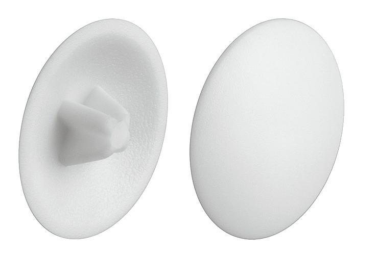 Image of   Dækkappe, hvid til PZ2 - RAL 9010 - 200 stk