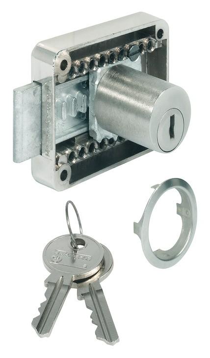 Påskrunings Rigellås - Justerbar cylinder - Forskelligtlukkende