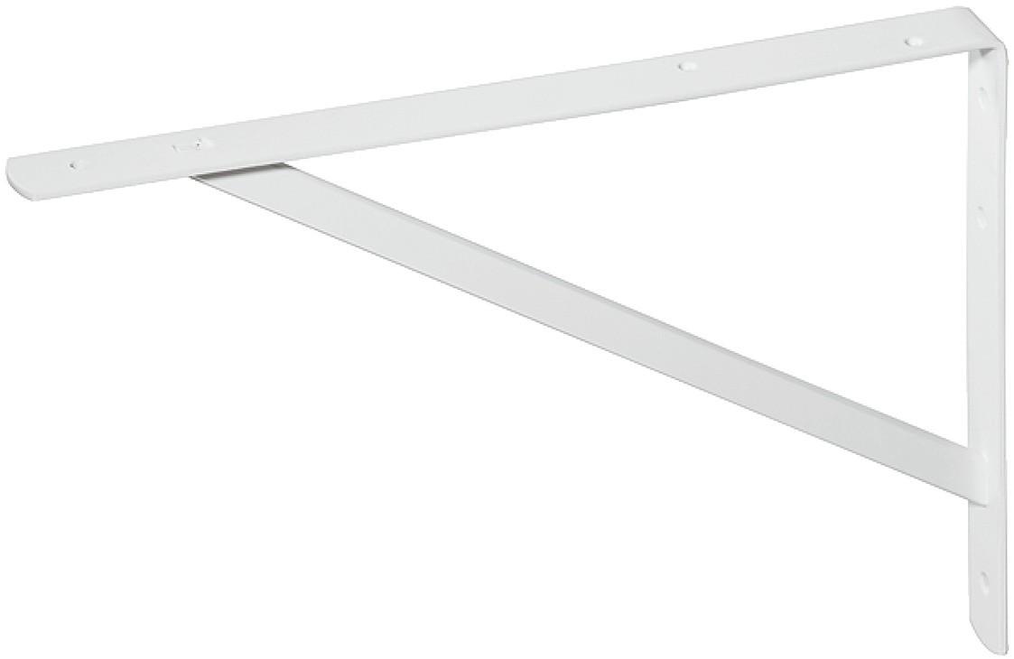 Hyldeknægt - Hvid med støttevinkel - 300 kg pr. par