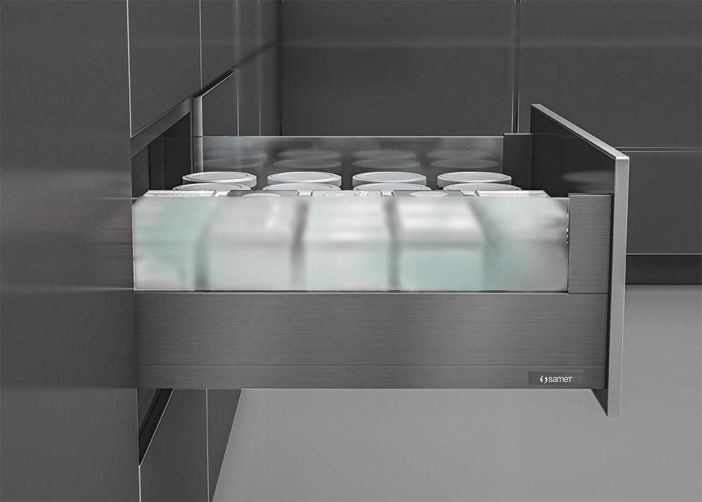 Billede af SmartFlow skuffeudtræk - H:144 cm - Antracit