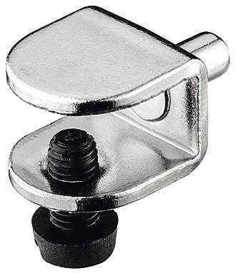 Hyldebære med sikringsskrue - Ø5 mm - 8/9 mm