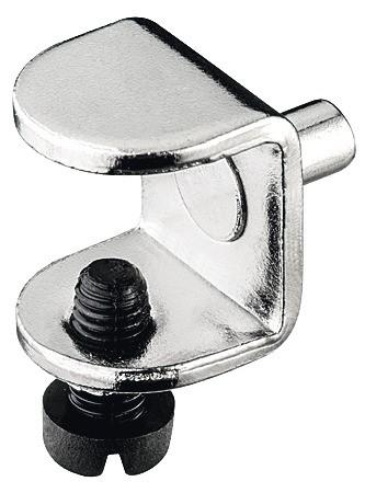 Hyldebære med sikringsskrue - Ø5 mm - 12/13 mm