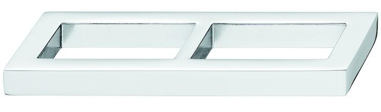 Greb Zinklegering - 2 Firkanter - Poleret