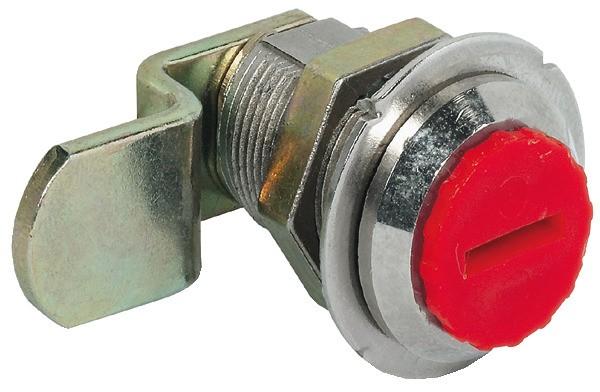 Billede af Låsekabinet, tungelås, møtrikmontage, bukket pal - 17 mm