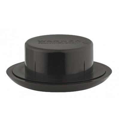 Møbelglider - Til rundt rør - Ø40 mm - Sort