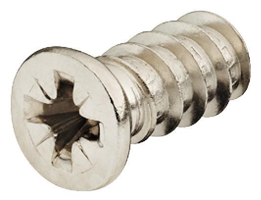 Billede af Euro skrue, cylinderhoved PZ2 - fladt hoved
