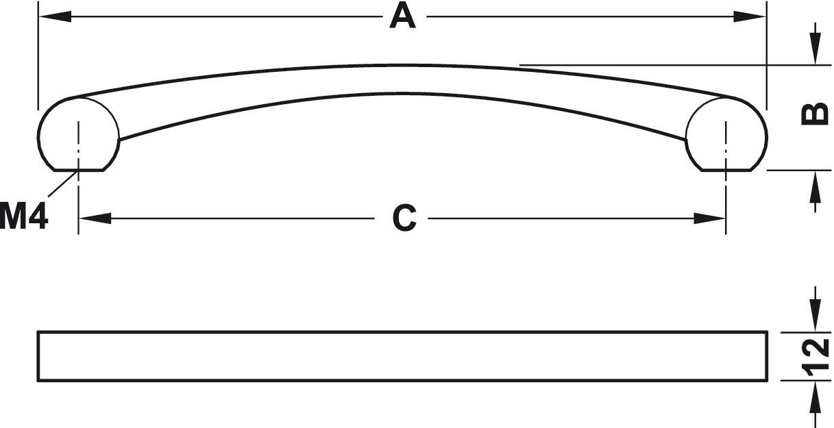 Image of   Greb Zinkegering, Model H1325 - Krom poleret
