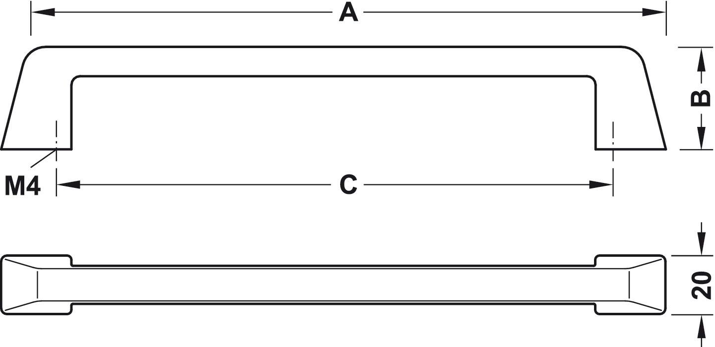 Image of   Greb Zinkegering, Model H1375 - Forkromet poleret