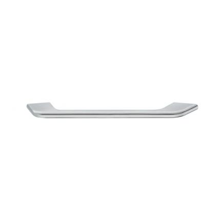 Let firkantet greb Zinkegering, Model H1510 - Forkromet poleret