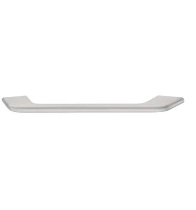 Let firkantet greb Zinkegering, Model H1510 - Børstet nikkel