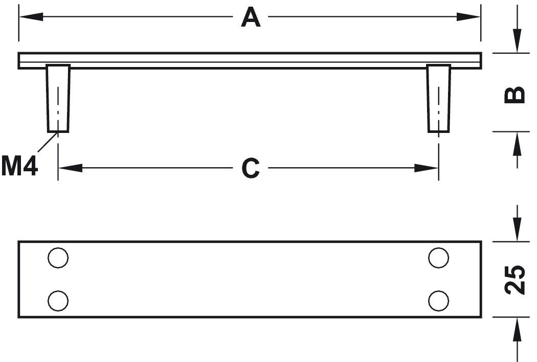Image of   Jernfarvet og brugt look greb med bevidst slitage, zinkegering