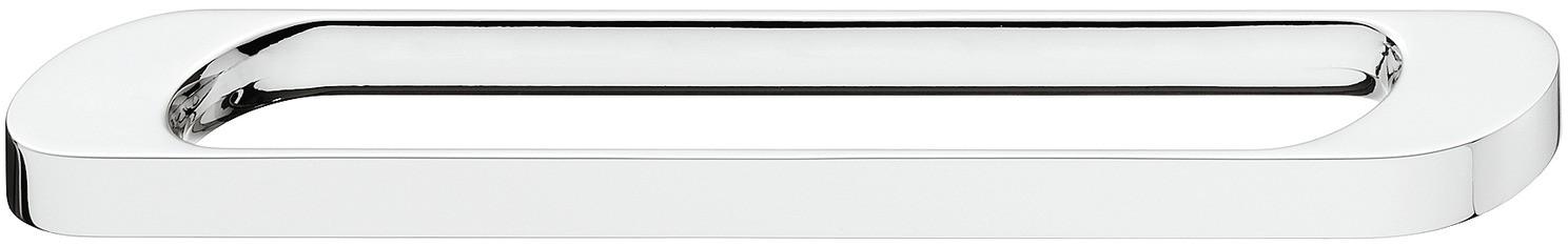 Billede af Ovalformet greb Zinkegering, Model H1315 - Forkrom poleret