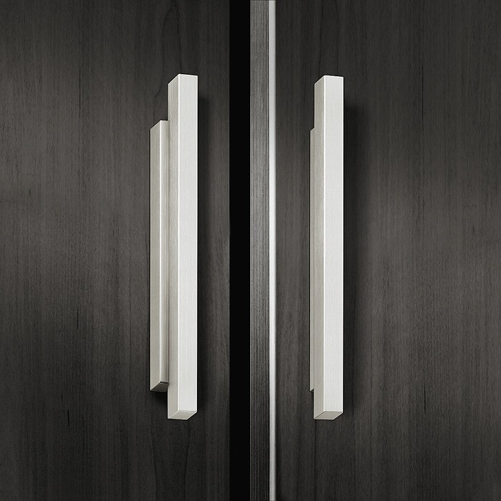 Image of   Kantet gribeliste aluminium, forkromet poleret
