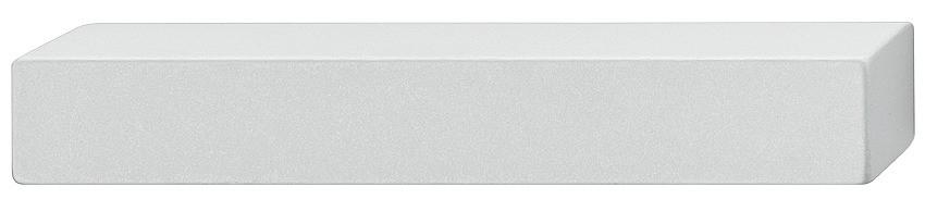 Image of   Enkelt og simpelt gribeliste, sølvfarvet eloxeret, aluminium