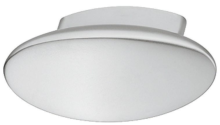 Billede af Ovalformet knopgreb i  forkromet mat zinklegering