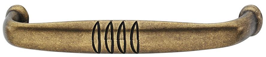 Image of   Knopgreb, brun antik, brugt look, zinklegering