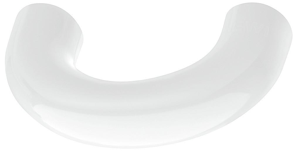 Billede af Lille buegreb, signalhvid, polyamid