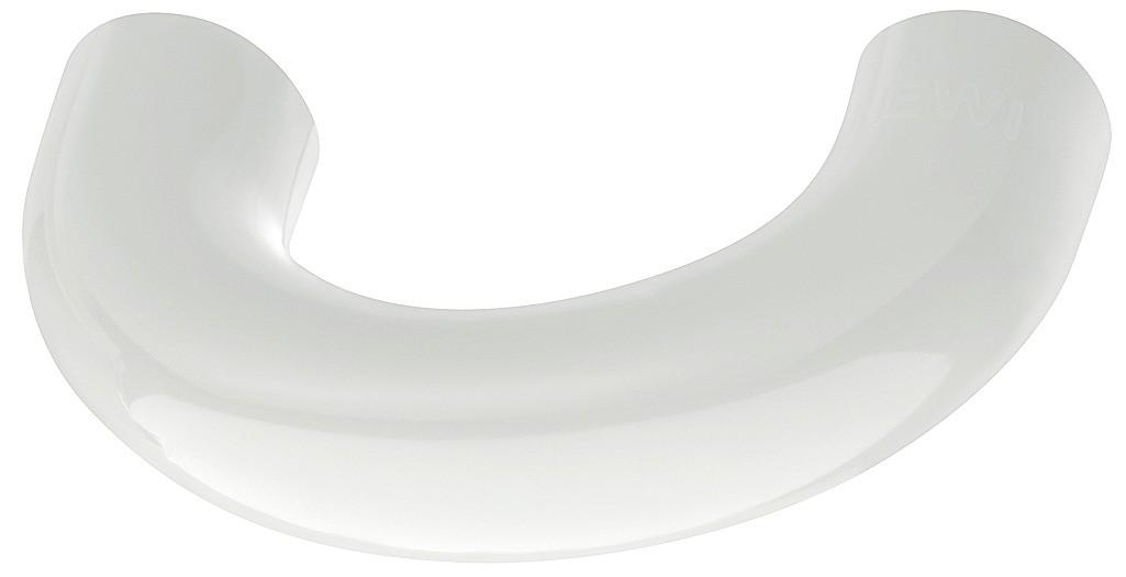Image of   Lille buegreb, ren hvid, polyamid