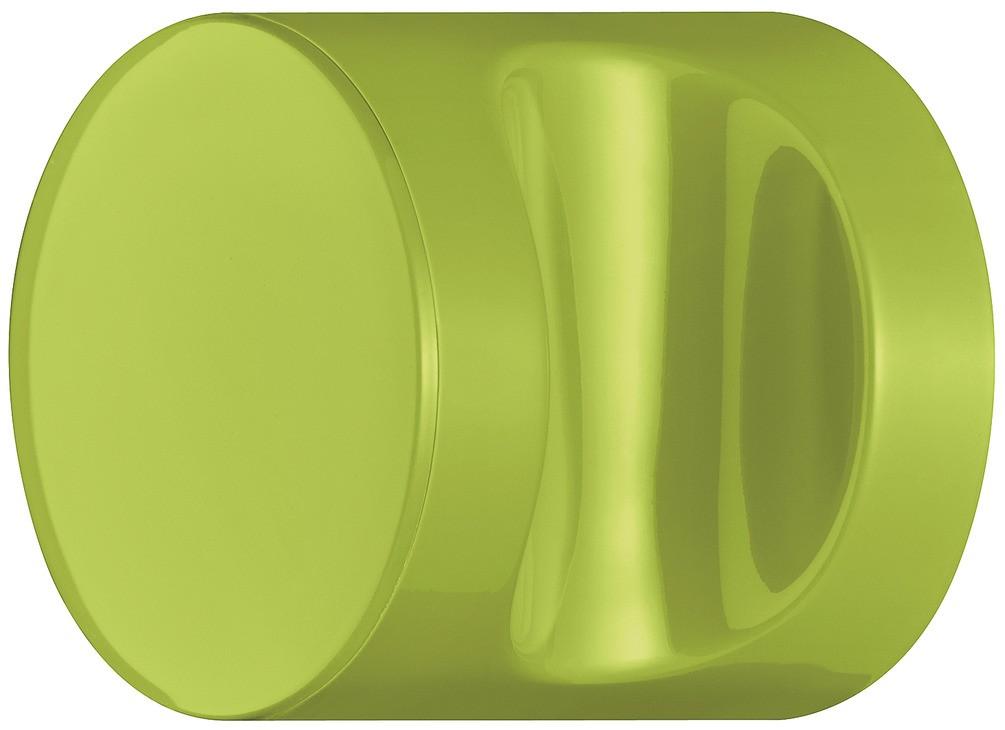Image of   Knopgreb, rund med fordybning, æblegrøn, polyamid