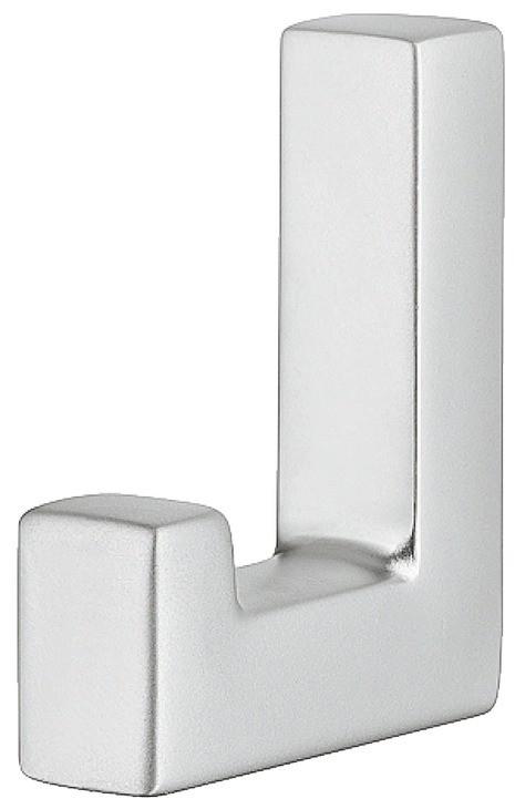 Image of   Simpel og enkel garderobekrog i forkromet mat zinklegering