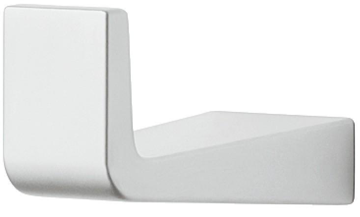 Image of   Garderobekrog i forkromet mat zinklegering