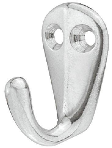 Image of   Billig aluminium garderobekrog med to montagehuller