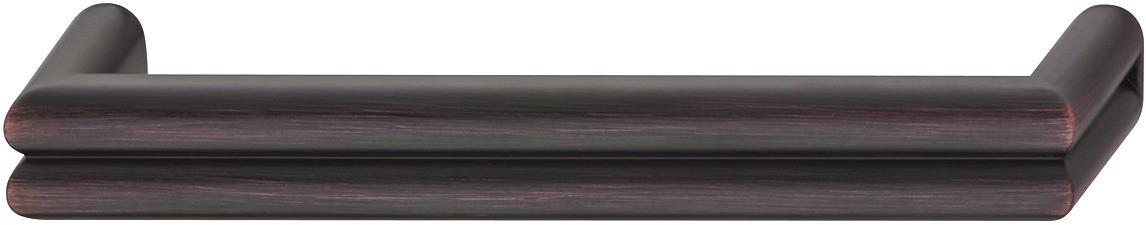 Image of   Kraftigt zinklegering greb med fordybning Model H1570 - Forkobret antik og brugt look