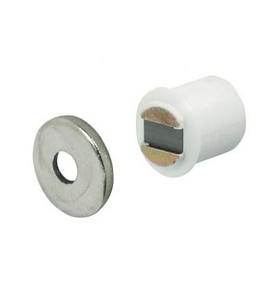 Magnetlås - 1,8 kg - til borehul Ø9 mm