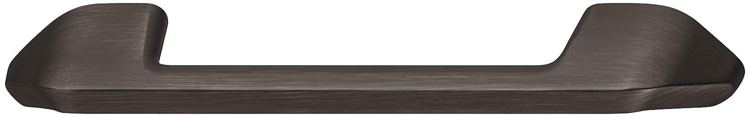 Image of   Greb i forniklet sort børstet zinklegering med brede sokler - model H1755