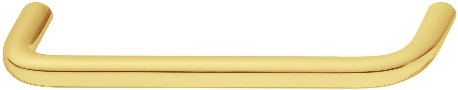 Image of   Klassisk rund bøjlegreb i formessinget poleret rustfrit stål PVD-belagt