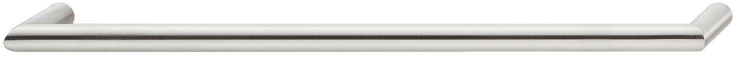 Image of   Klassisk bøjlegreb i mat børstet rustfrit stål, Ø 12 mm