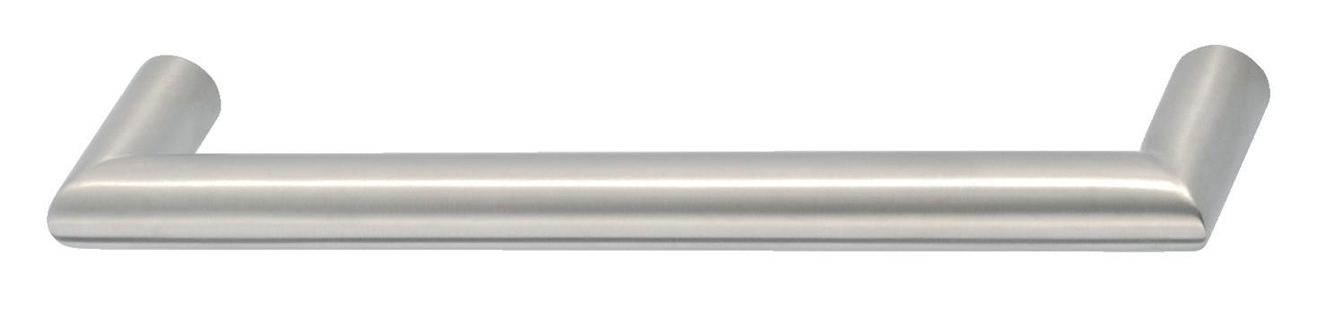 Image of   Klassisk bøjlegreb i mat børstet rustfrit stål, Ø 14 mm