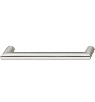 Klassisk bøjlegreb i mat børstet rustfrit stål, Ø 16 mm