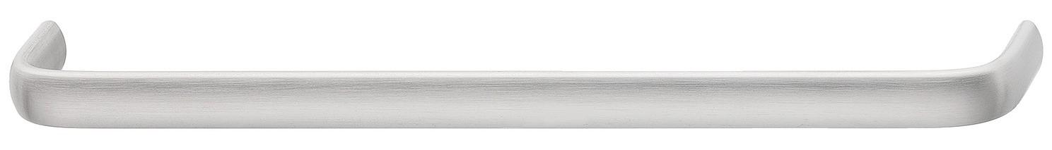 Image of   Klassisk bøjlegreb med afrundet hjørner i mat børstet rustfrit stål, Ø 30 mm