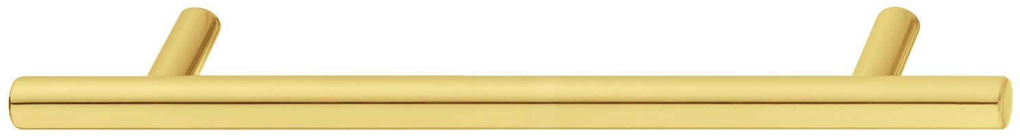 Image of   Klassisk sokkelgreb i formessinget og poleret rustfrit stål - PVD-belagt