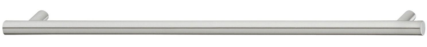 Image of   Sokkelgreb med 2 sokler i mat børstet rustfrit stål