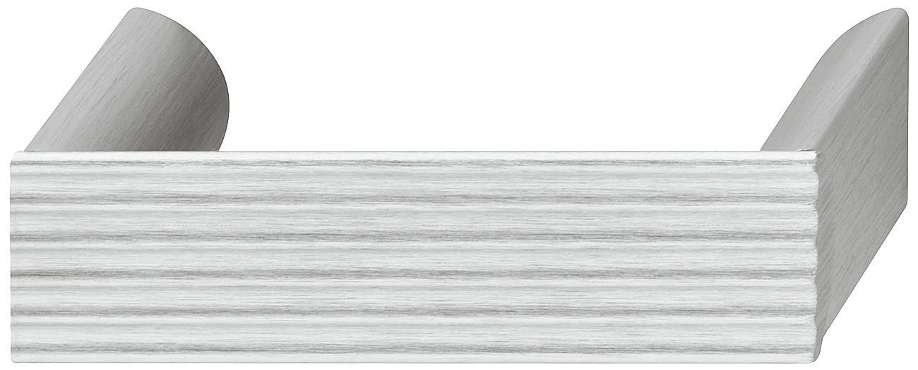 Image of   Sokkelgreb i stålfarvet aluminium og sokler i zinklegering