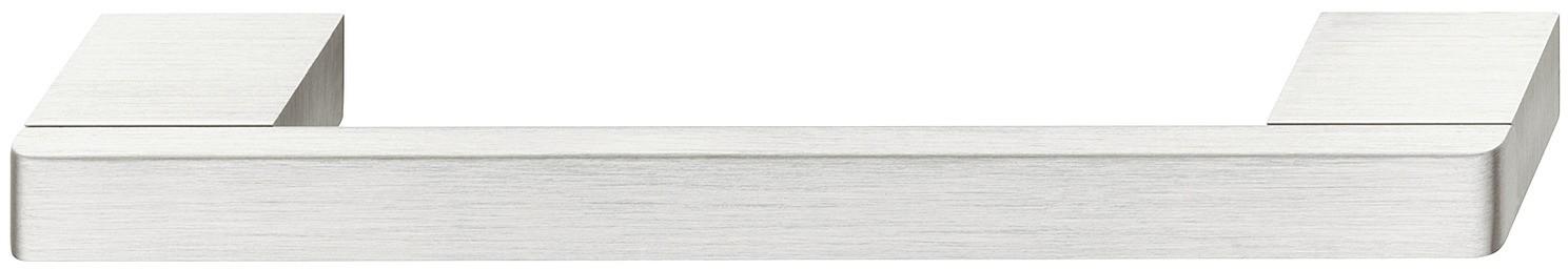 Image of   Aluminium sokkelgreb i rustfrit stål look lys eloxeret børstet